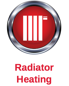 Radiator heating icon