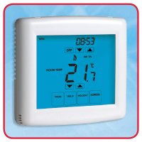 230V Touchscreen Programmable Thermostat