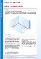thumbnail of Branch & Manifold Plumbing System