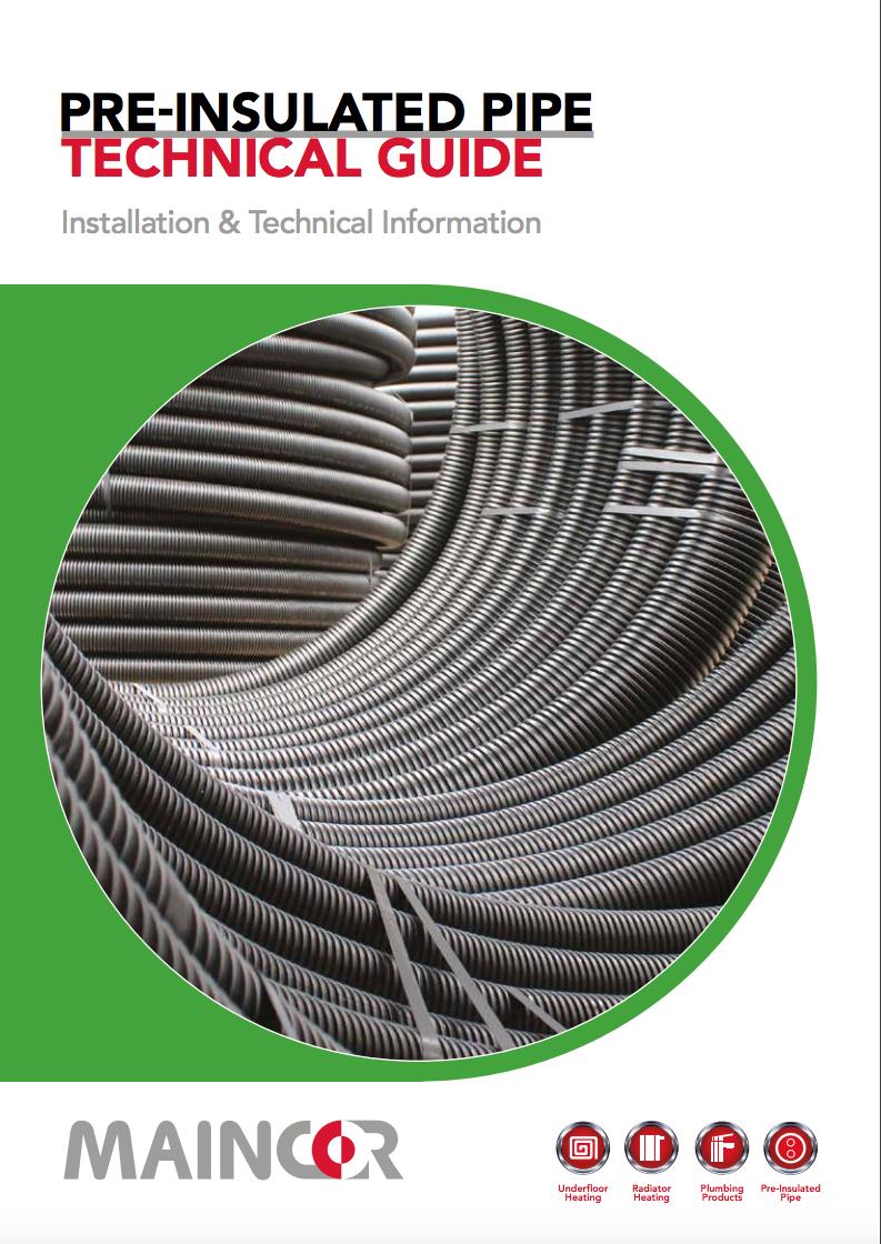 Pre-insulated pipe technical guide